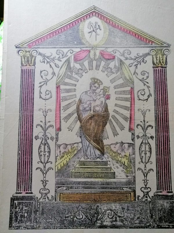 ancienne-estampe-polychrome-sicilienne-san-giuseppe