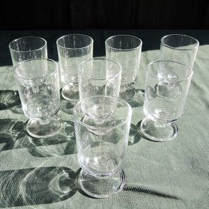 6 Verres À Vin Vintage Transparents Luminarc
