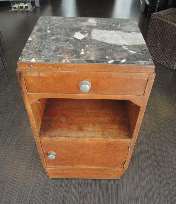 ancienne-table-de-chevet-en-bois-et-marbre