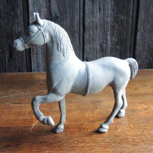 ancienne-statuette-equestre-en-etain