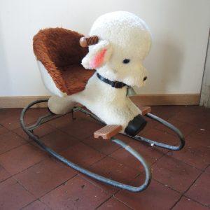 Mouton À Bascule Vintage