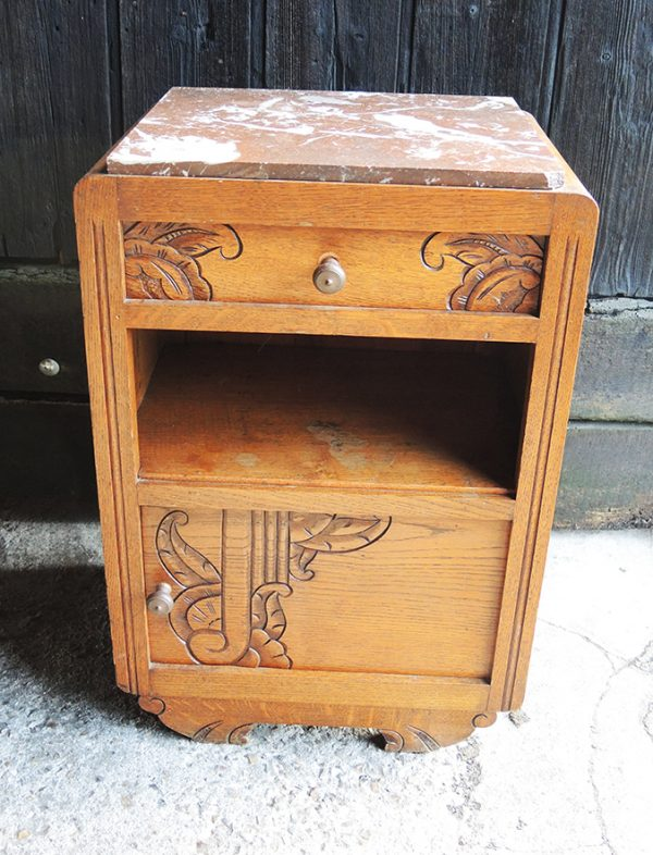 paire-de-chevets-table-de-nuit-vintage