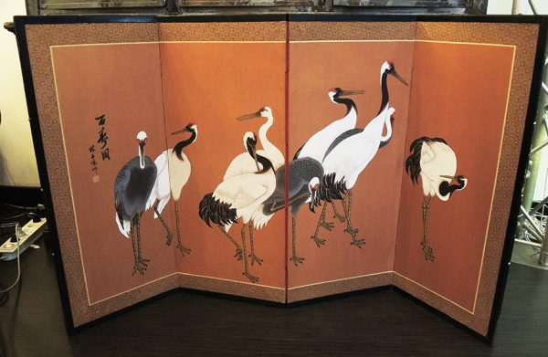 ancien-paravent-chinois-grues