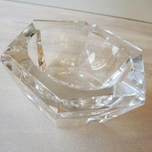 Cendrier Vintage - Vide Poches En Cristal Epais