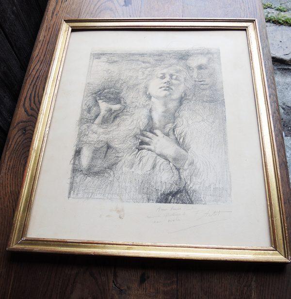 ancienne-gravure-encadree-et-signee