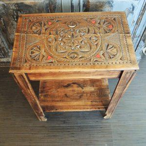 Travailleuse / Guéridon / Table De Chevet Vintage