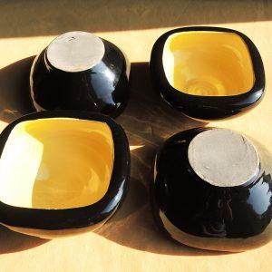 Vide-Poche Cendrier Vintage En Ceramique Années 50