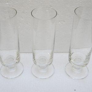 3 Flutes À Champagne Vintage Luminarc Transparentes