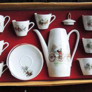 Service À Thé – Café Vintage Porcelaine Bavaria