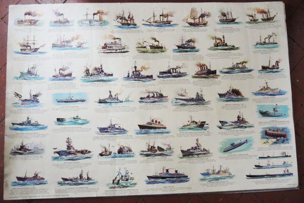 grande-affiche-ancienne-panodecor-marine-a-moteur