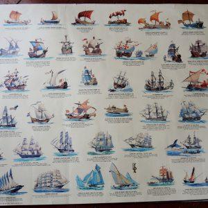 Grande Affiche Vintage Panodécor : Navire