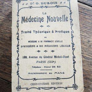 Livre Vintage La Médecine Nouvelle – 101ème Édition