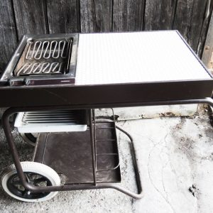 BBQ Roulant Gaggenau Vintage