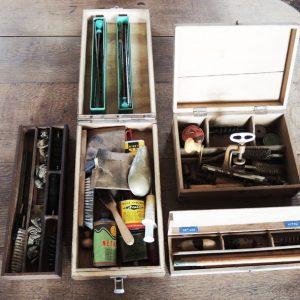 Nécessaire De Nettoyage De Carabine / Fabrication Cartouche Vintage