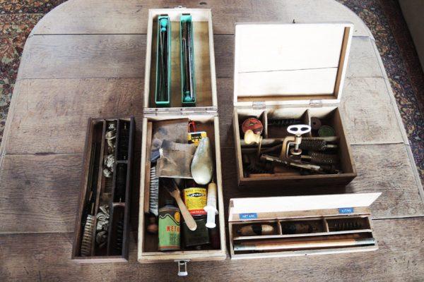 necessaire-de-nettoyage-de-carabine-fabrication-cartouche-vintage