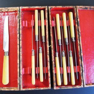 11 Couteaux À Fromage Vintage PRADEL
