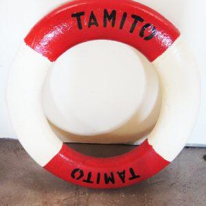 Bouée De Sauvetage En Mer Vintage : TAMITO KOLN