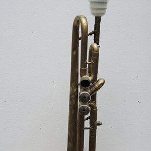 Lampe Trompette Vintage – Pièce Unique