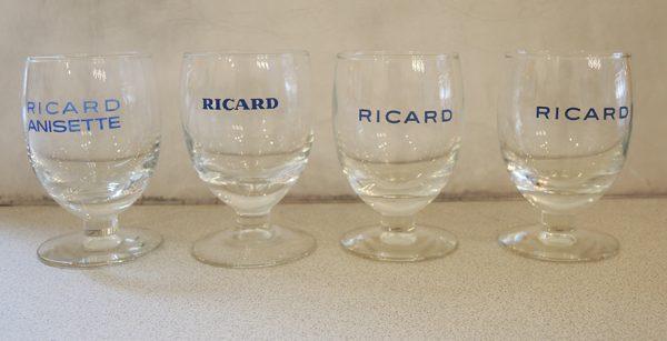 4-anciens-verres-ballon-ricard-modeles-varies