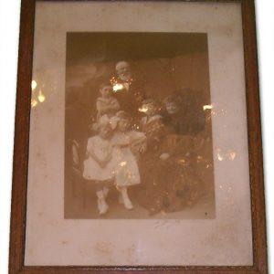 Photo Encadrée Vintage PORTRAIT DE FAMILLE