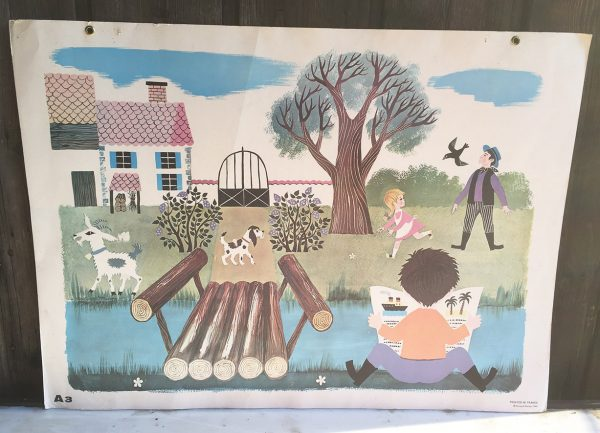 ancienne-affiche-scolaire-fernand-nathan-a3