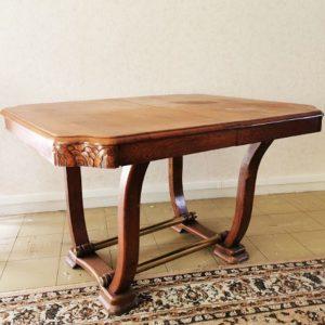 Table À Diner Vintage Extensible Art Déco