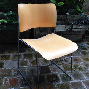 Chaise 40/4 De David Rowland VIntage