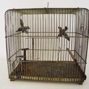 Cage D'Oiseau Vintage Verdigris