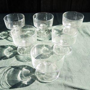 6 Coupes À Champagne Vintage Transparente Luminarc