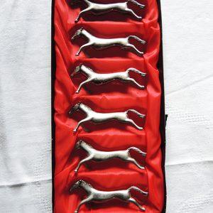 Porte-Couteaux Cheval Vintage
