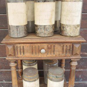 Pots À Pharmacie / Apothicaire Vintage