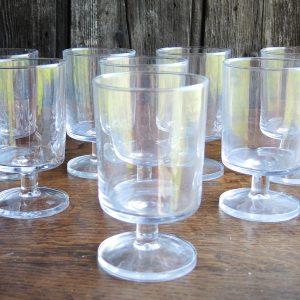 6 Verres À Vin Vintage – Eau Transparents Luminarc
