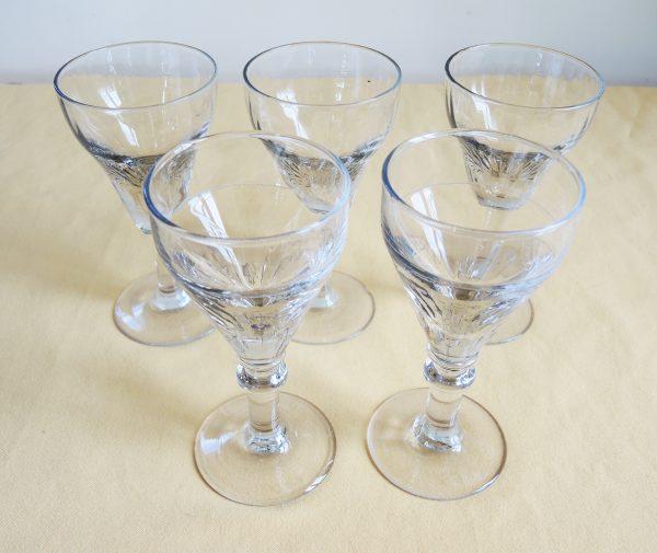5-anciens-verres-a-bistrot