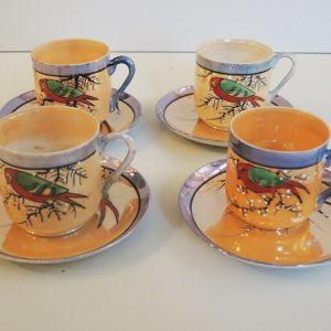 Tasses À Café Japonaise Vintage