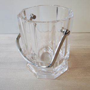 Seau À Glaçons Vintage En Cristal De Sèvres