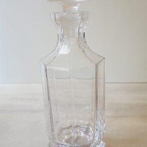 Carafe À Whisky Vintage En Cristal De Sèvres