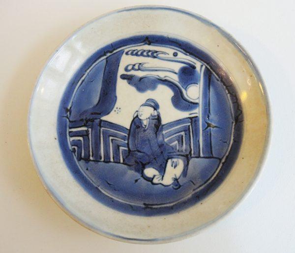 ancienne-coupelle-en-porcelaine-signee