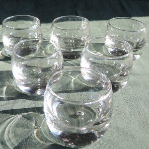 6 Verrines Verres À Whisky Design Vintage