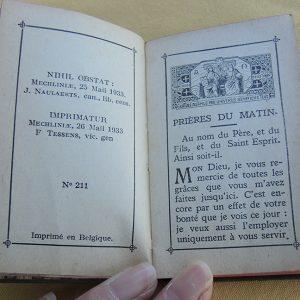 Livre Vintage Missel : Paroissien De L'Enfance 1933
