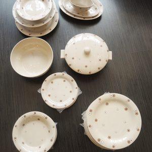 Service De Table Vintage En FaÏence De Longwy – 43 Pièces