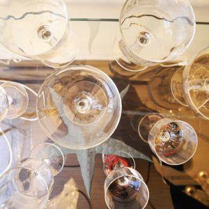 Service De Verres En Cristal Vintage