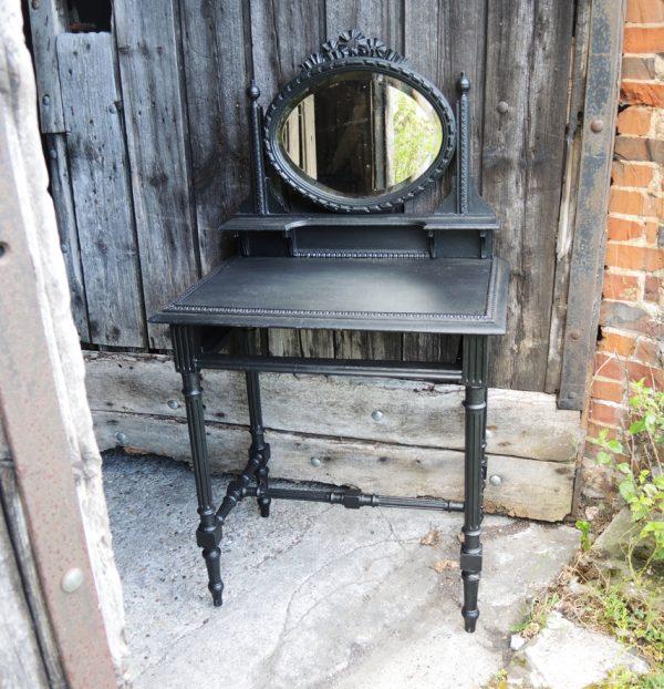 ancienne-coiffeuse-table-de-maquillage-en-bois-noir