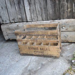Casier Caisson Vintage 15 Bouteilles BERNARD GALLAIS