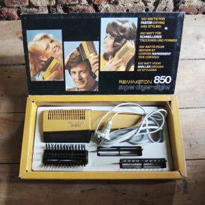 Sèche-Cheveux Vintage Remington 850 : NEUF