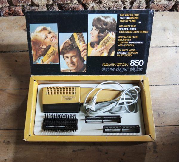 ancien-seche-cheveux-remington-850-neuf
