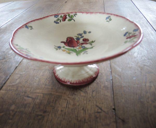 ancien-compotier-en-ceramique-a-decor-floral-gien
