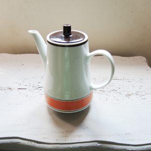 Cafetière / Théière Vintage En Céramique Années 60/70