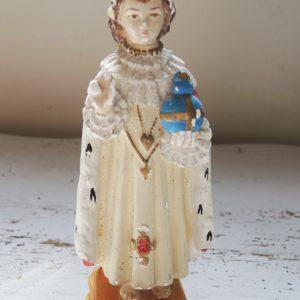 Statuette Vintage De L'Enfant Jésus De Prague PIERACCINI