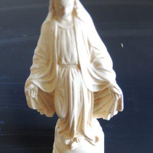 Statuette Vintage En Céramique De La Vierge Miraculeuse