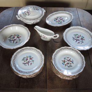 Service De Vaisselle Vintage De La Faïencerie L'Amandinoise
